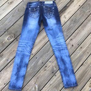 Rock Revival Embellished Jeans Alivia Skinny 26